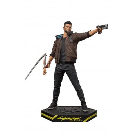 Cyberpunk 2077 Male-V statula | 24cm
