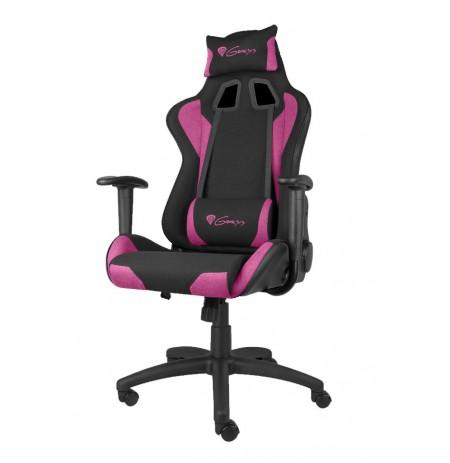 GENESIS NITRO 440 rausva ergonominė kėdė