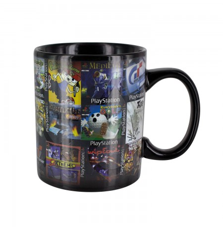Playstation Games  Heat Change Mug