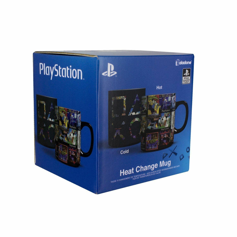 Playstation Games spalvą keičiantis puodukas