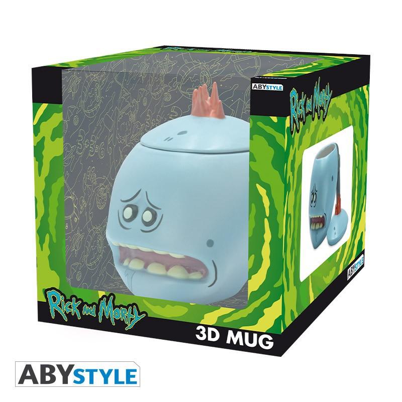 RICK & MORTY - Mr. Meeseeks 3D puodukas