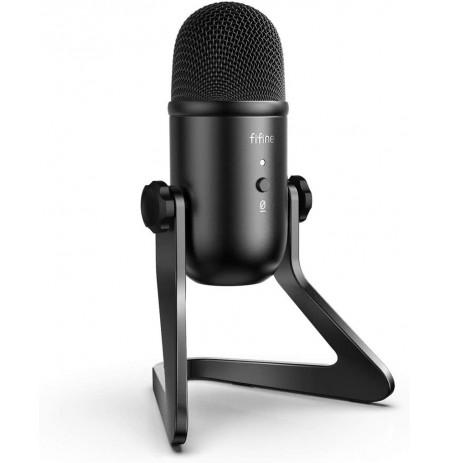 FIFINE K678 laidinis mikrofonas | USB