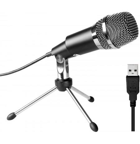 FIFINE K668 laidinis mikrofonas | USB