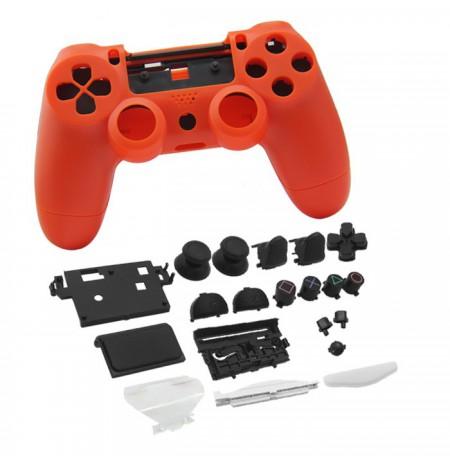 Dualshock 4 valdiklio korpusas ir mygtukai (oranžinė)