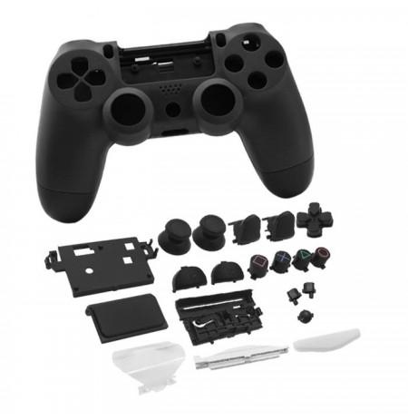 Dualshock 4 valdiklio korpusas ir mygtukai (juoda)