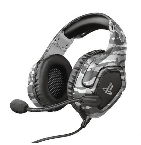 TRUST GXT 488 FORZE PS4 grey wired headset | 3.5mm