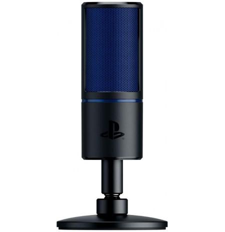 RAZER Seiren X mėlynas kondensatorinis mikrofonas