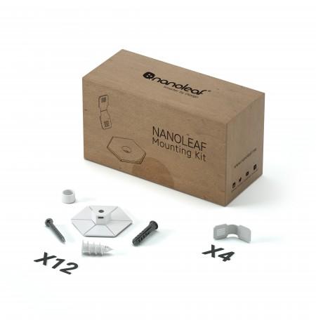 Nanoleaf Canvas Light Panels Rhythm Smarter Kit (9 šviesos)