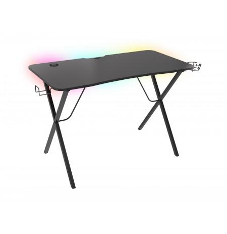 GENESIS HOLM 200 RGB reguliuojamas žaidimų stalas