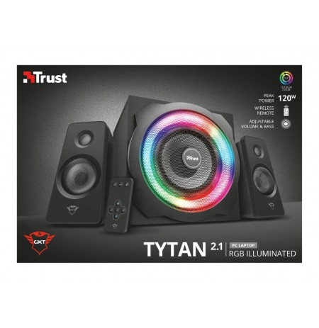 TRUST GXT 629 Tytan RGB Illuminated 2.1 kolonėlės