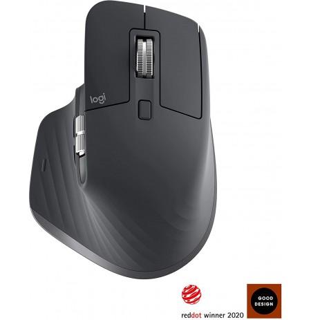 Logitech MX Master 3 juoda belaidė pelė | 4000 DPI