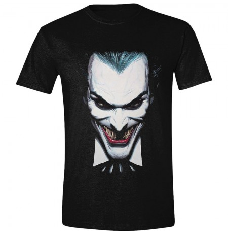 BATMAN - ALEX ROSS JOKER - Black Small T-shirt