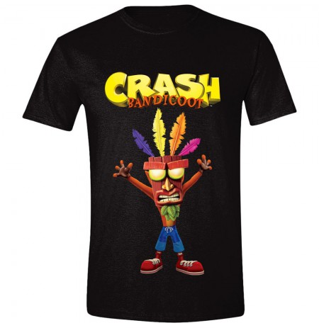 CRASH BANDICOOT - AKU AKU - Black Extra Large T-shirt