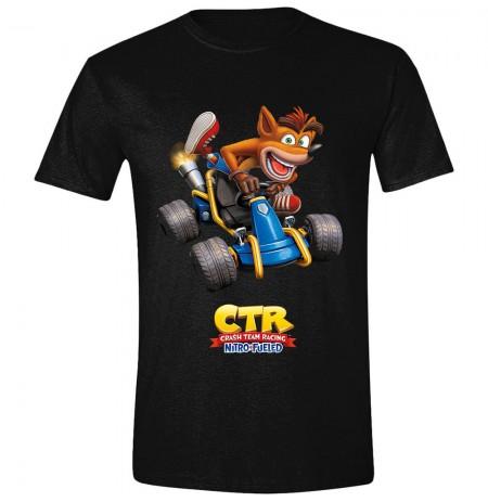 CRASH TEAM RACING - CRASH CAR marškinėliai - S dydis