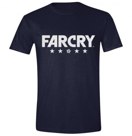 FAR CRY 5 - LOGO mėlyni marškinėliai - S dydis