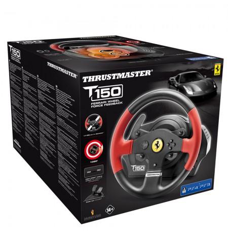Thrustmaster T150 Ferrari edition vairas (PS3/PS4/PC)