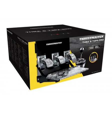 Thrustmaster TH8A & T3PA PRO Race Gear bundle (PS3/PS4/PC)