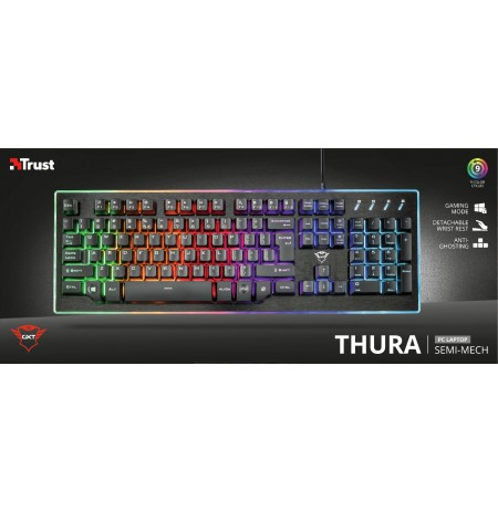TRUST GXT 860 Thura Semi-mechanical Gaming Keyboard