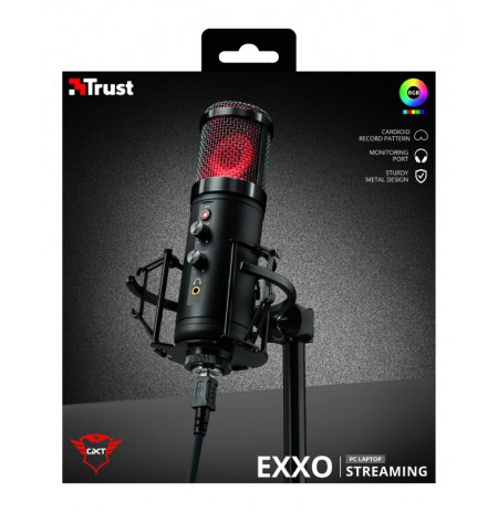 TRUST GXT 256 Exxo Streaming Microphone | USB