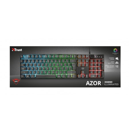 TRUST GXT 835 Azor Illuminated Gaming Keyboard
