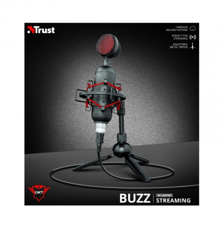 TRUST GXT 244 Buzz Streaming Microphone | USB