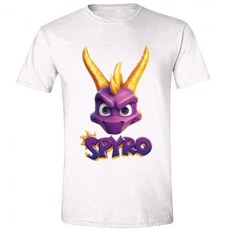 SPYRO - FACE LOGO balti marškinėliai - XL dydis