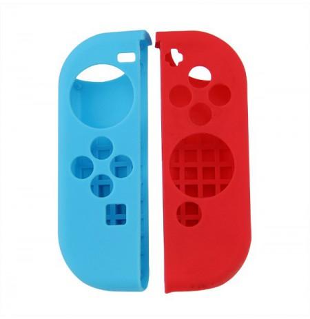 Nintendo Switch Joy-Con silikoninės apsaugos (raudonas+mėlynas)