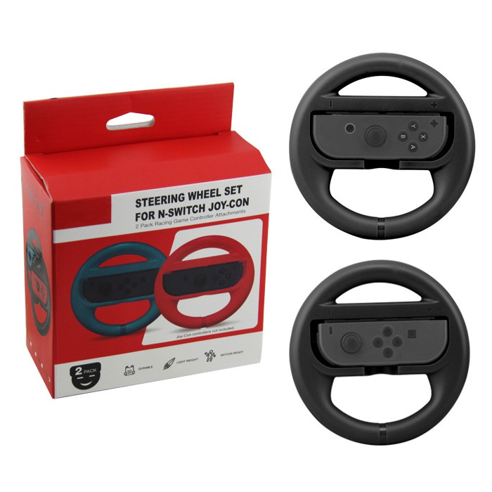 Nintendo Switch Joy-Con Steering Wheel Set