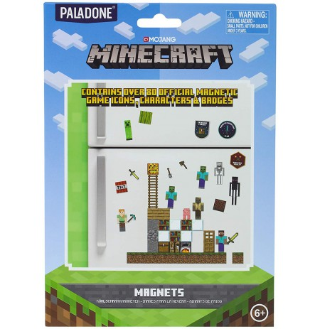 Minecraft Build-A-Level magnetukų rinkinys