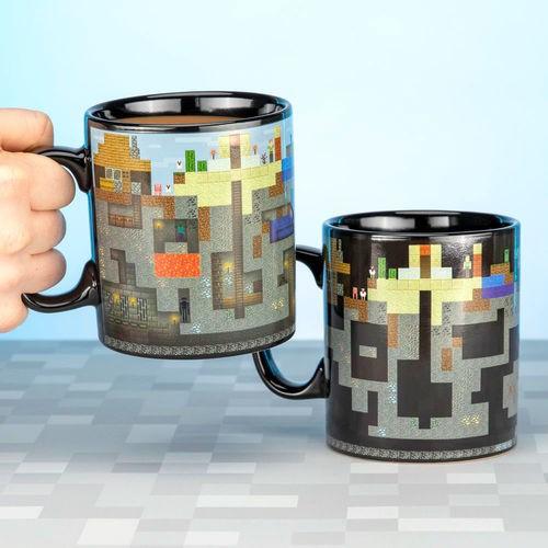 Minecraft XL spalvą keičiantis puodukas