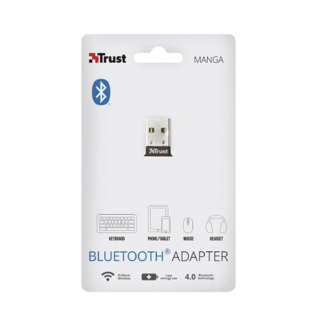 TRUST Manga Bluetooth 4.0 Adapteris | USB