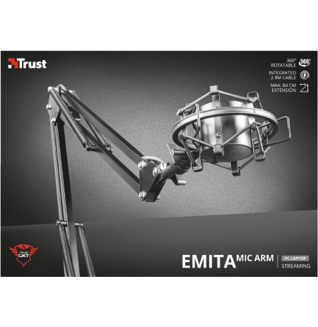 TRUST GXT 253 Emita Streaming Microphone Arm