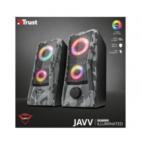 TRUST GXT 606 Javv RGB-Illuminated 2.0 Speaker Set