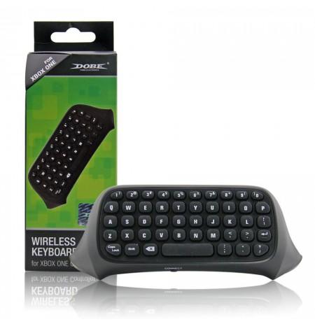 Juoda belaidės klaviatūra Xbox One pulteliui