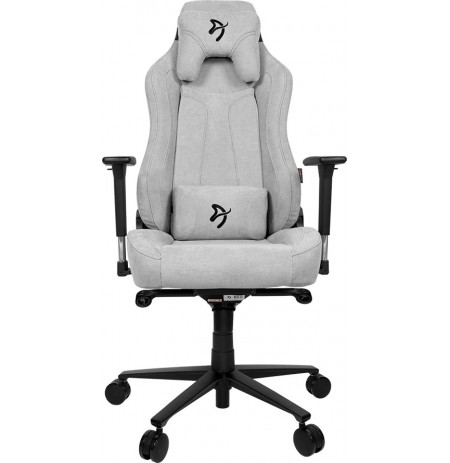 Arozzi VERNAZZA SOFT FABRIC Light Grey gaming chair