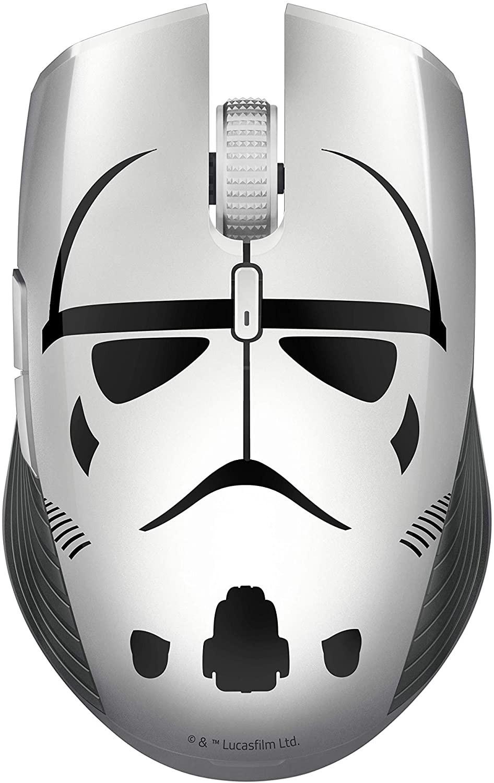 RAZER Atheris Stormtrooper Edition bevielė žaidimų optinė pelė    7200 DPI