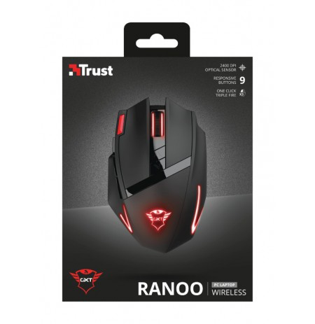 TRUST GXT 130 Ranoo Wireless Gaming Mouse | 2400 DPI