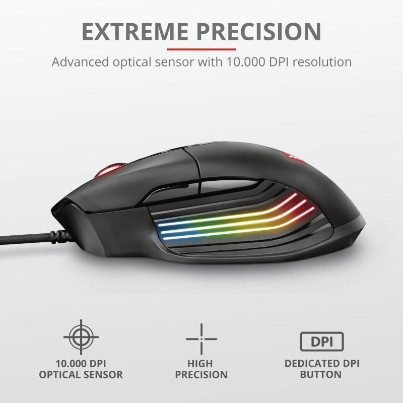 TRUST GXT 940 XIDON laidinė pelė | 10000 DPI