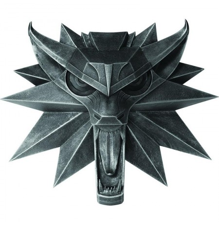 Wolf Wall Sculpture (The Witcher 3 Wild Hunt) statula | 15cm