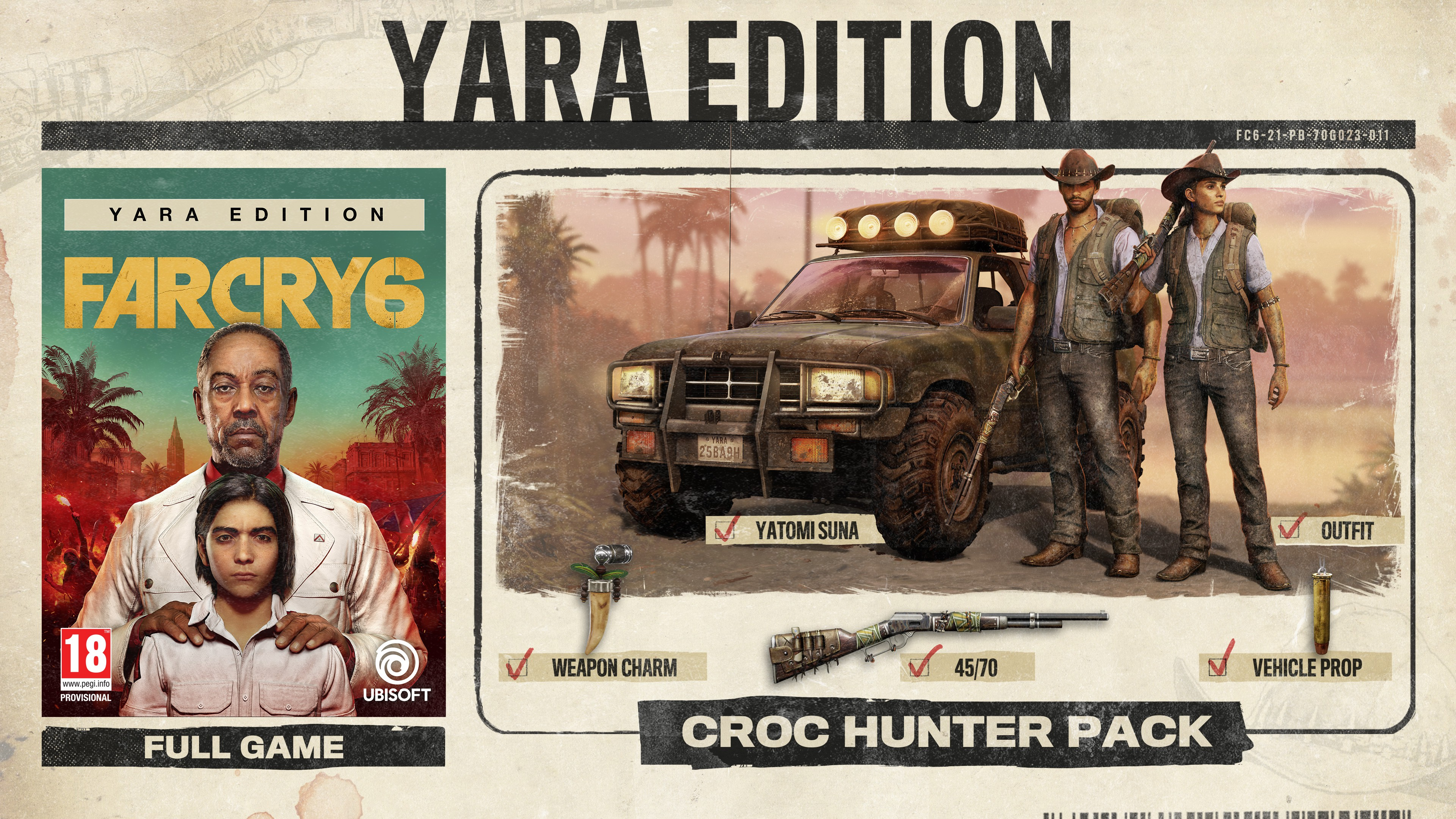 Far Cry 6 Yara Edition + preorder bonus
