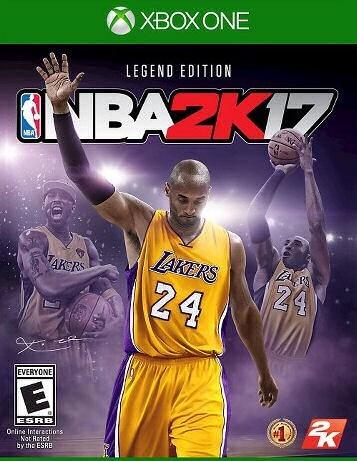 NBA 2k17: Legend Edition XBOX