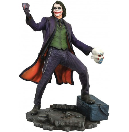DC Gallery BATMAN DARK KNIGHT MOVIE JOKER Comic statue | 24 cm