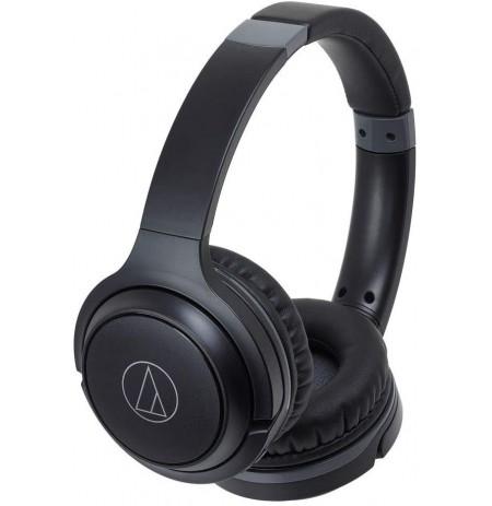 Audio Technica ATH-S200BT belaidės ausinės (Black) | Bluetooth