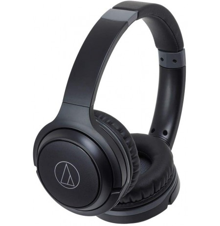 Audio Technica ATH-S200BT wired headphones (Black) | Bluetooth