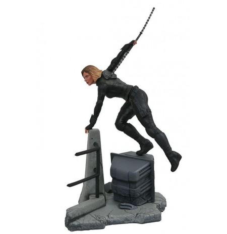 MARVEL GALLERY: AVENGERS INFINITY WAR MOVIE BLACK WIDOW statula | 24 cm