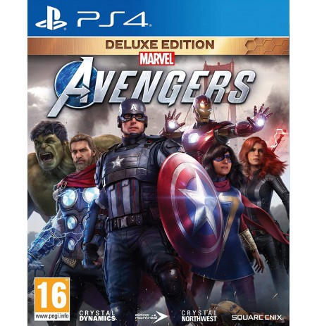 Marvel's Avengers Deluxe Edition + Steelbook