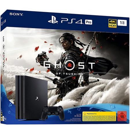 Žaidimų konsolė SONY PlayStation 4 (PS4) PRO 1TB (juoda) + Naughty dog bundle