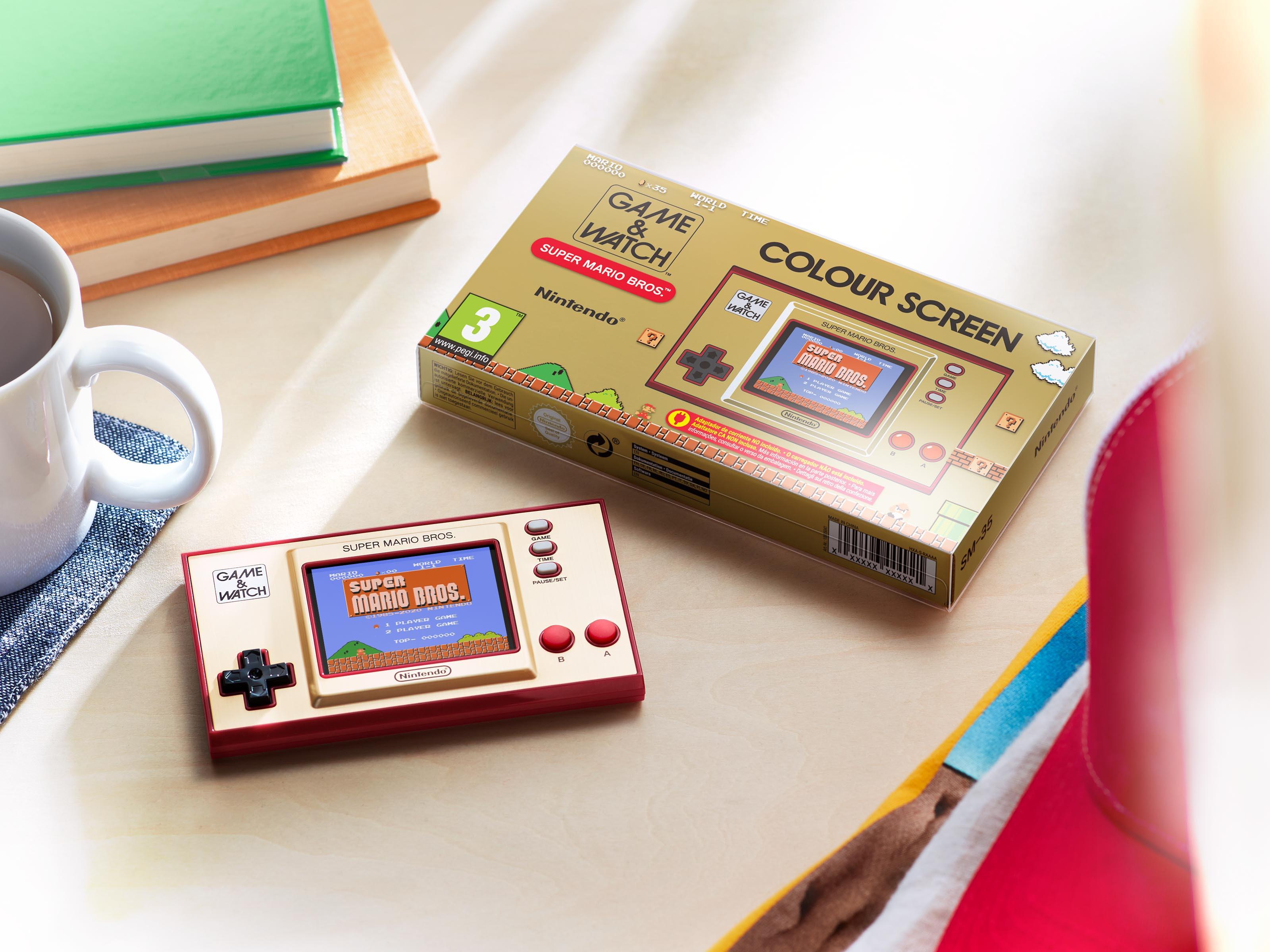 Nintendo Game & Watch: Super Mario Bros žaidimų kompiuteris