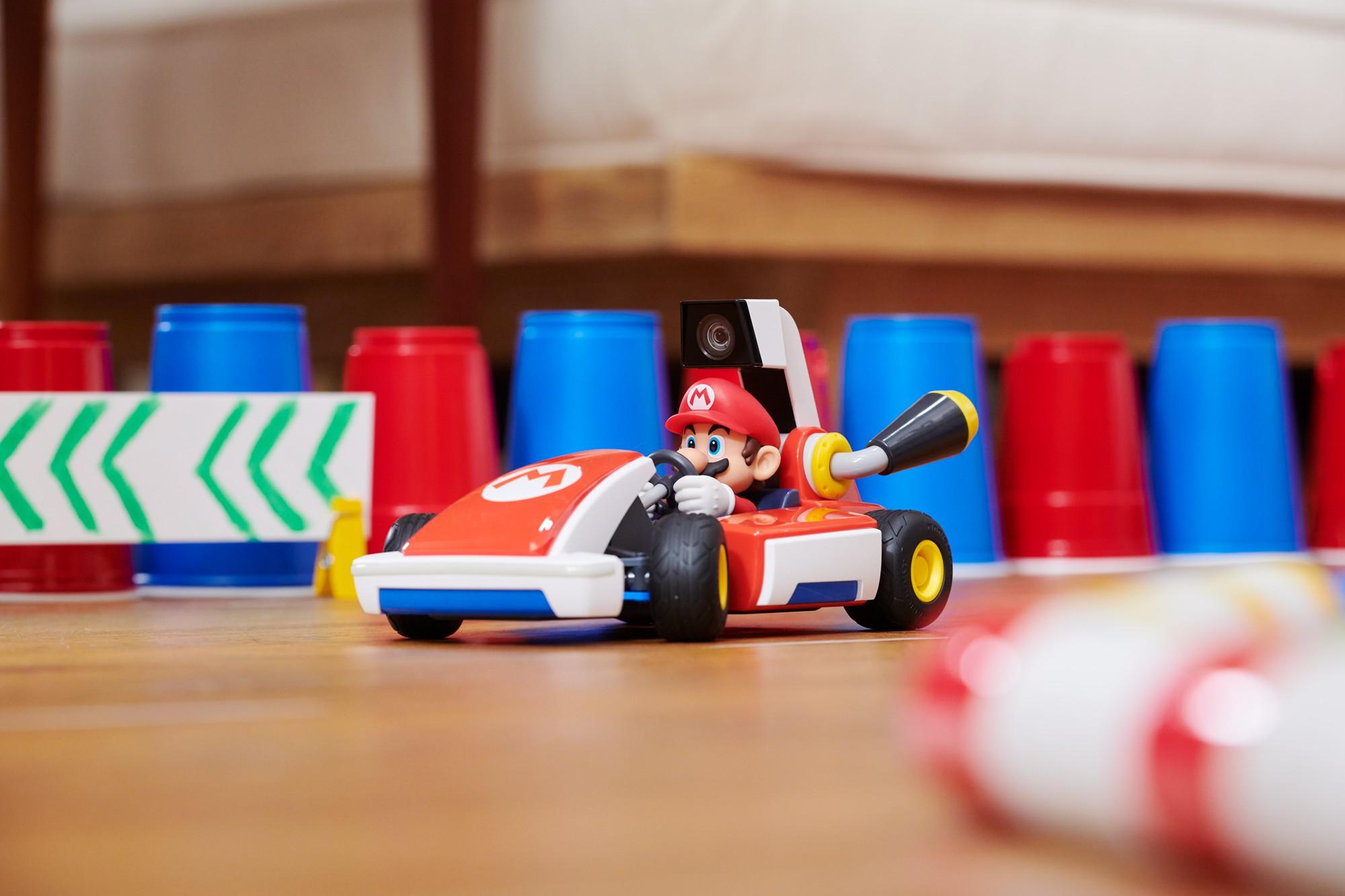 Mario Kart Live Home Circuit Mario car play set