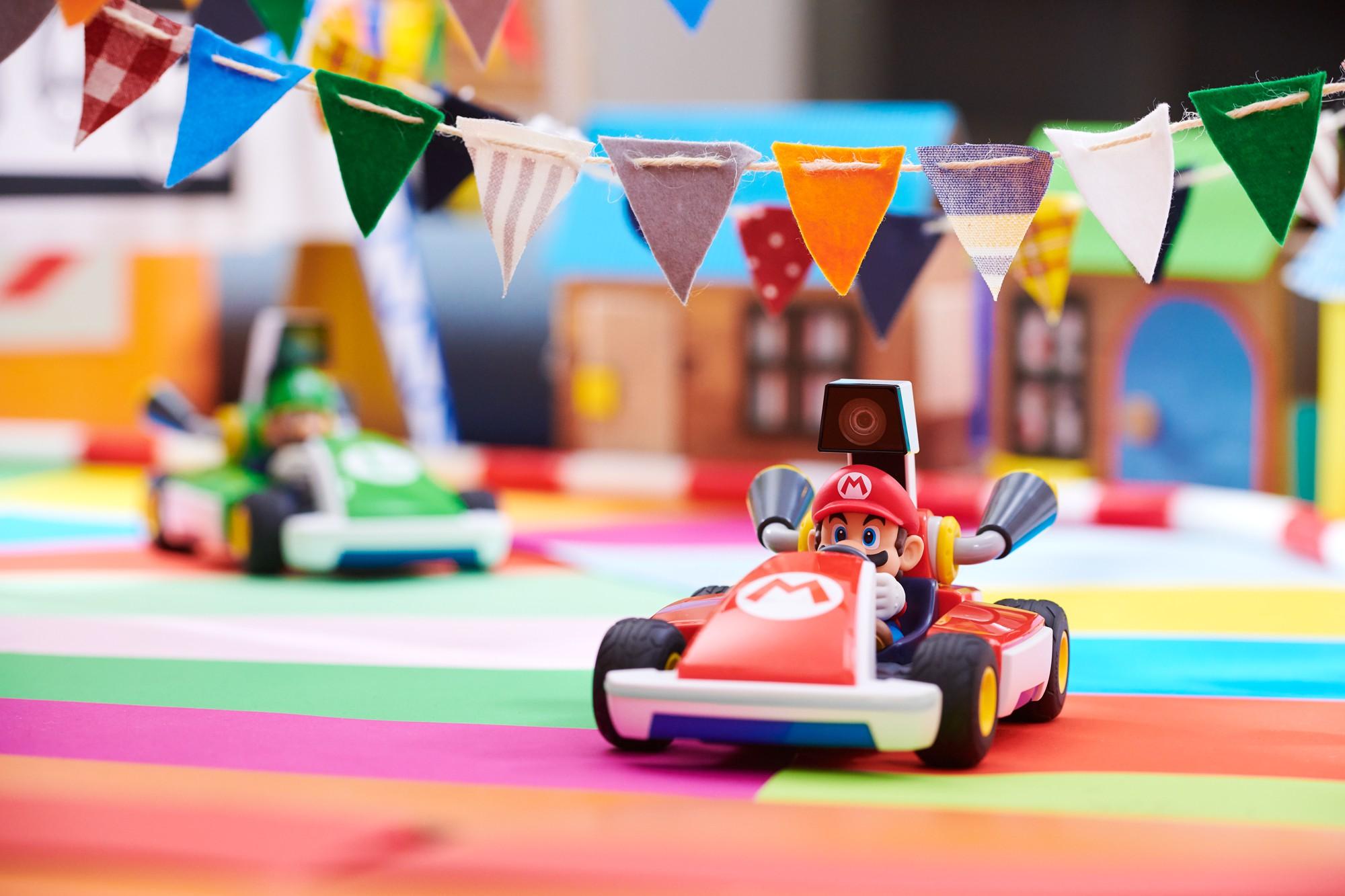 Mario Kart Live Home Circuit Mario mašinėlės rinkinys
